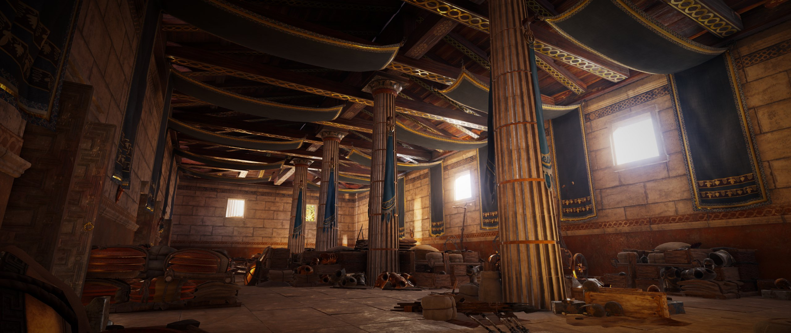 Armory in Athens in Assassins Creed Odyssey